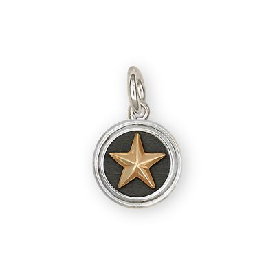 Lone Star Sterling Silver Charm