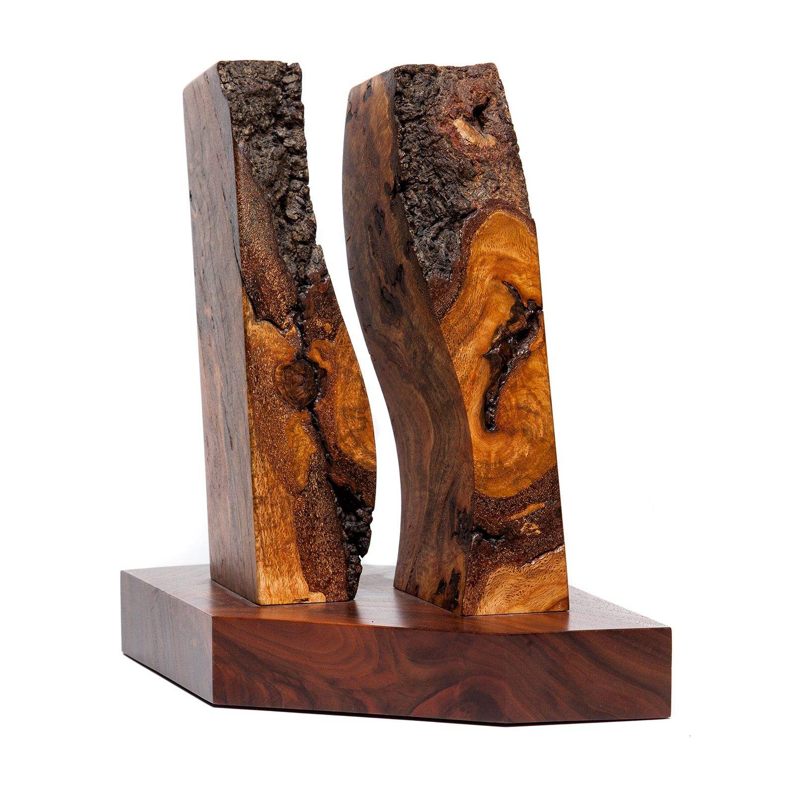 Capitol wood sculpture quot split personality texas