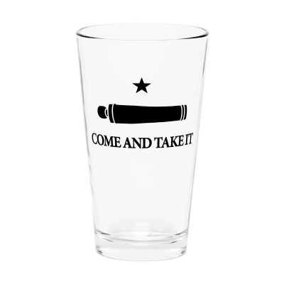 Gonzales Flag Pint Glass