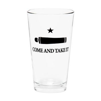 Gonzales Flag Pint Glass