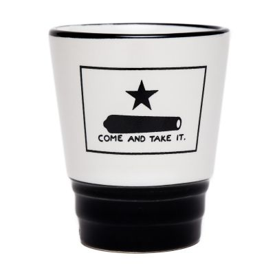Gonzales Flag Shot Glass