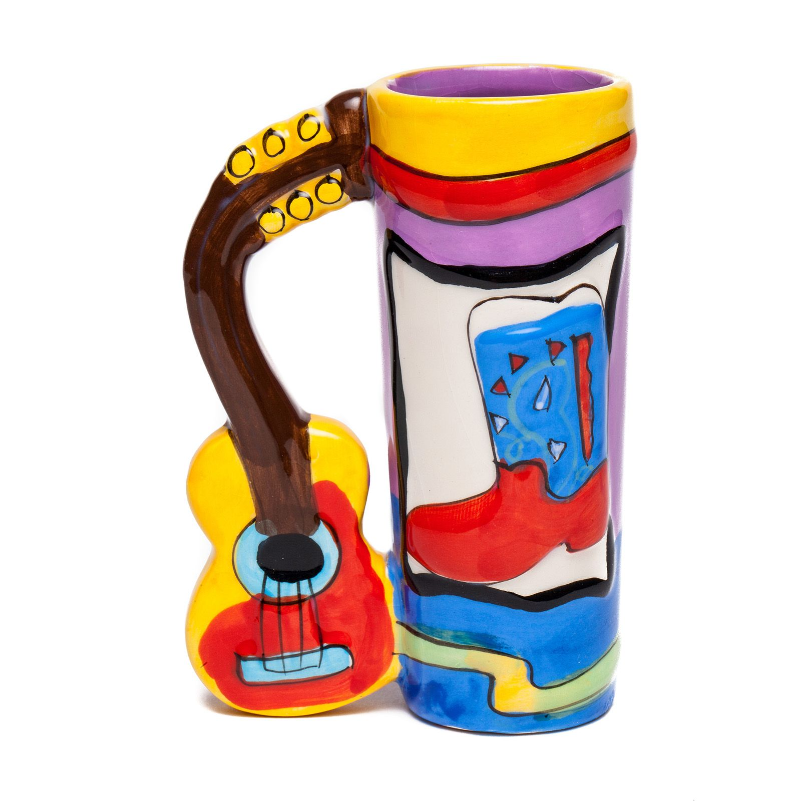 Austin Guitar Ceramic Shot Glass