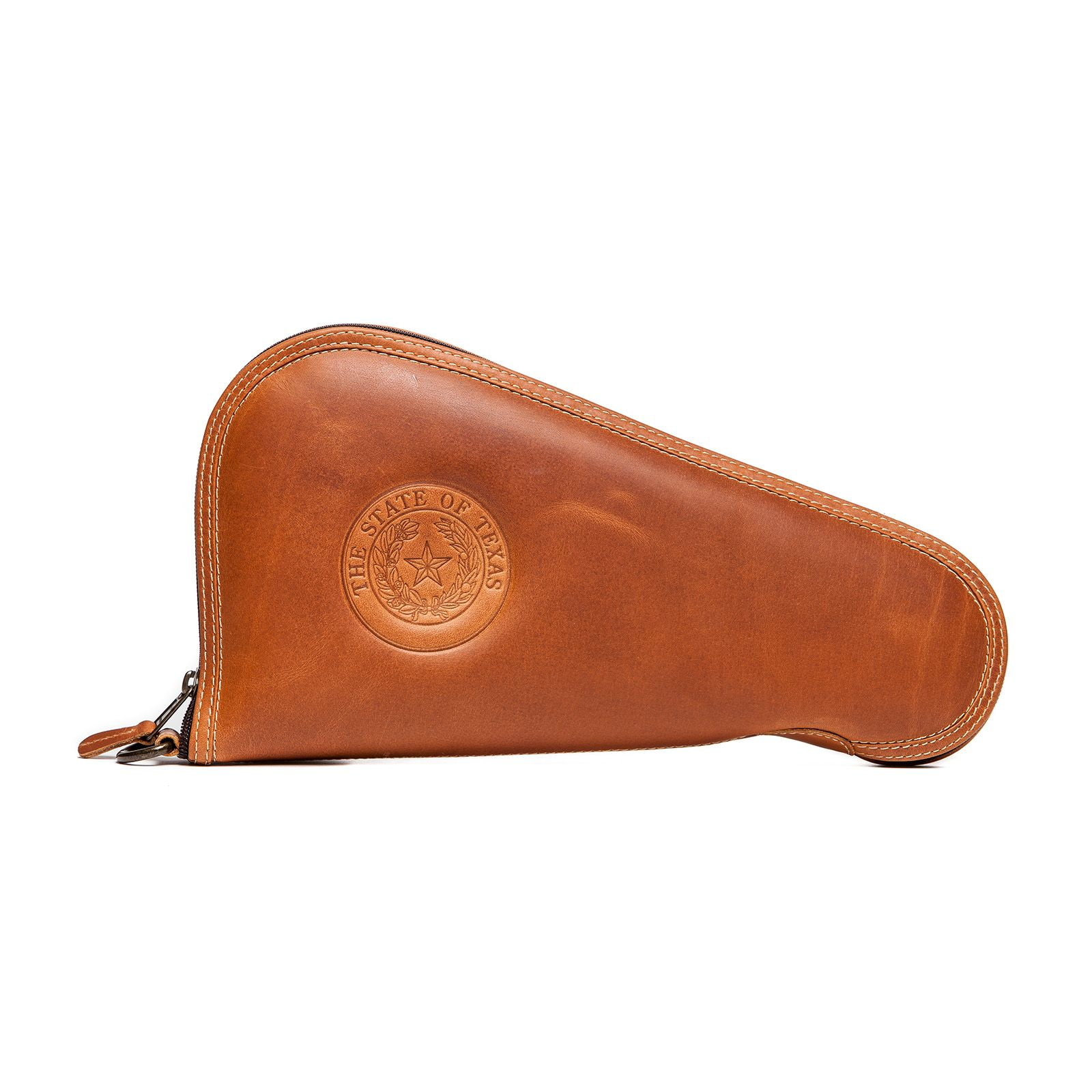 Leather Zippered Pistol Case