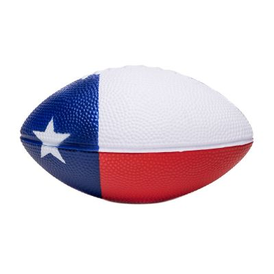 Texas State Flag Mini Foam Football