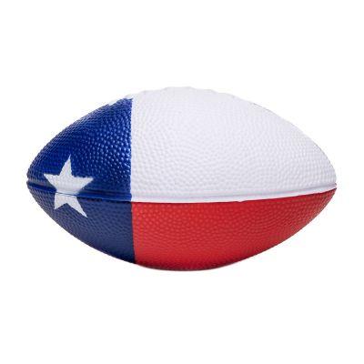 Texas State Flag Mini Foam Football