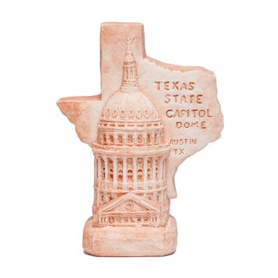 Texas Capitol Dome Small Clay Replica