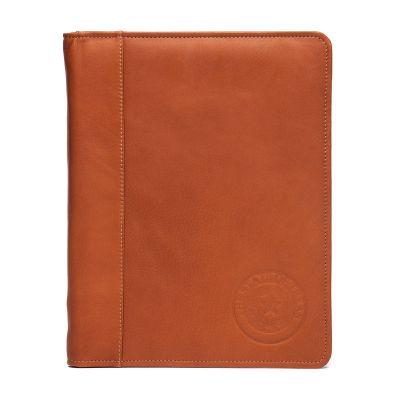 Leather Zippered Portfolio