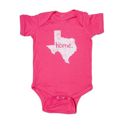 Home Texas Chalk Onesie
