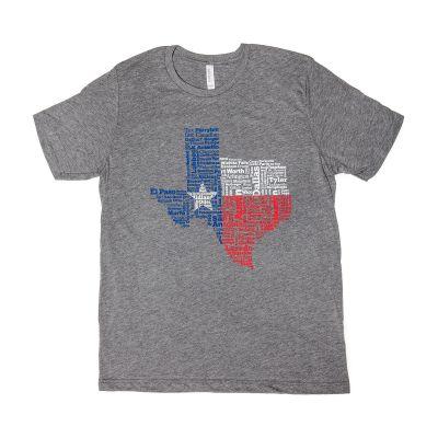 Texas Cities T-Shirt