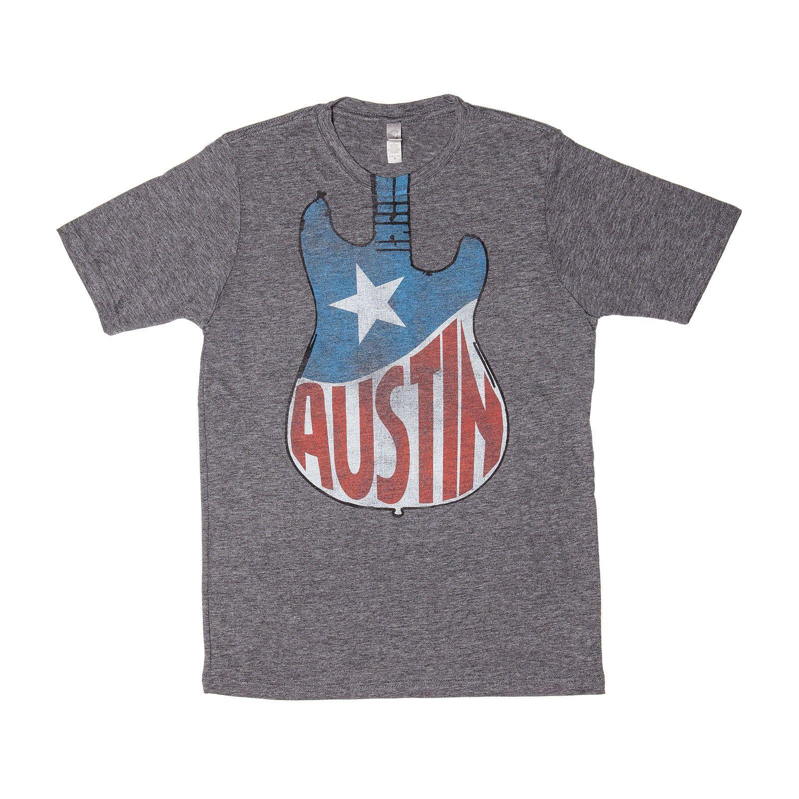austin guitar t shirt texas capitol gift shop