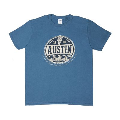 Austin Music Skyline T-Shirt
