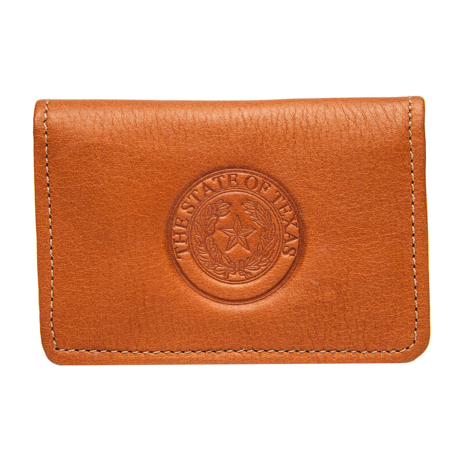 Leather Business Card Case Texas Capitol Gift Shop