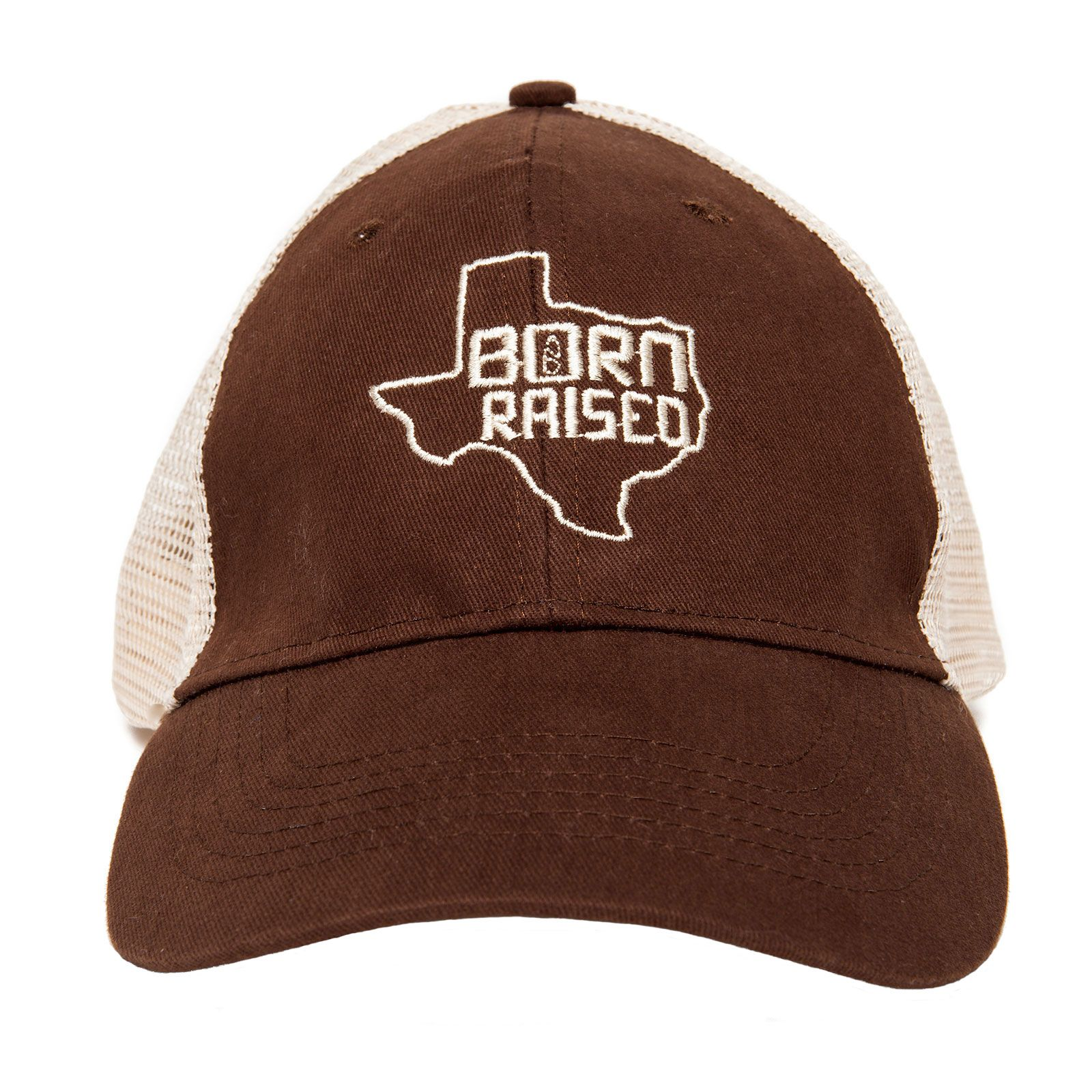 Born and Raised Texas Trucker Hat