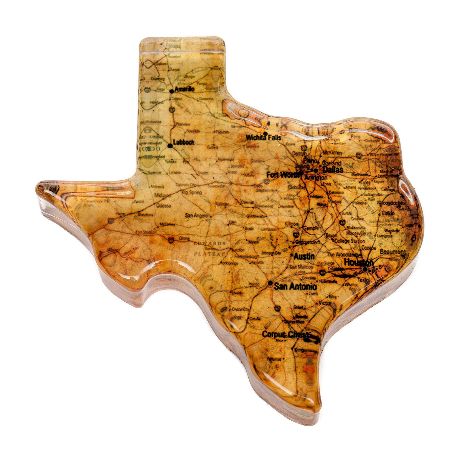 Texas Roadmap Paperweight