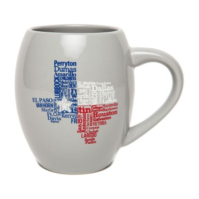 Texas Cities Ceramic Mug