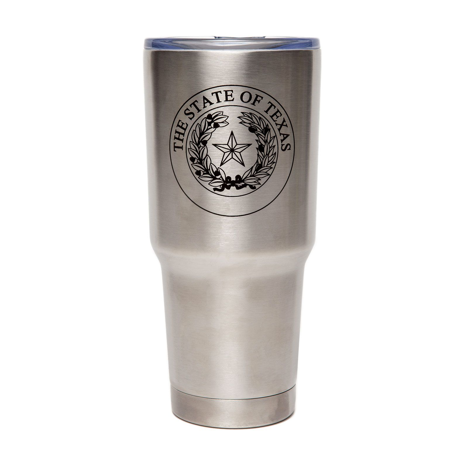 Texas State Seal Stainless-Steel Travel Tumbler