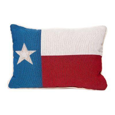 Texas Flag Accent Pillow