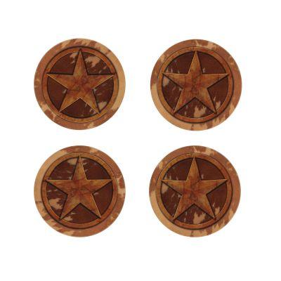 Lone Star Stoneware Coaster Set