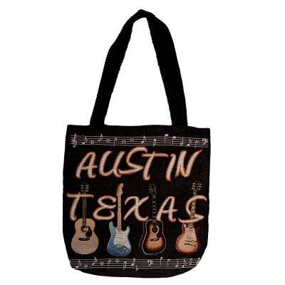 Austin Texas Guitar Tote Bag