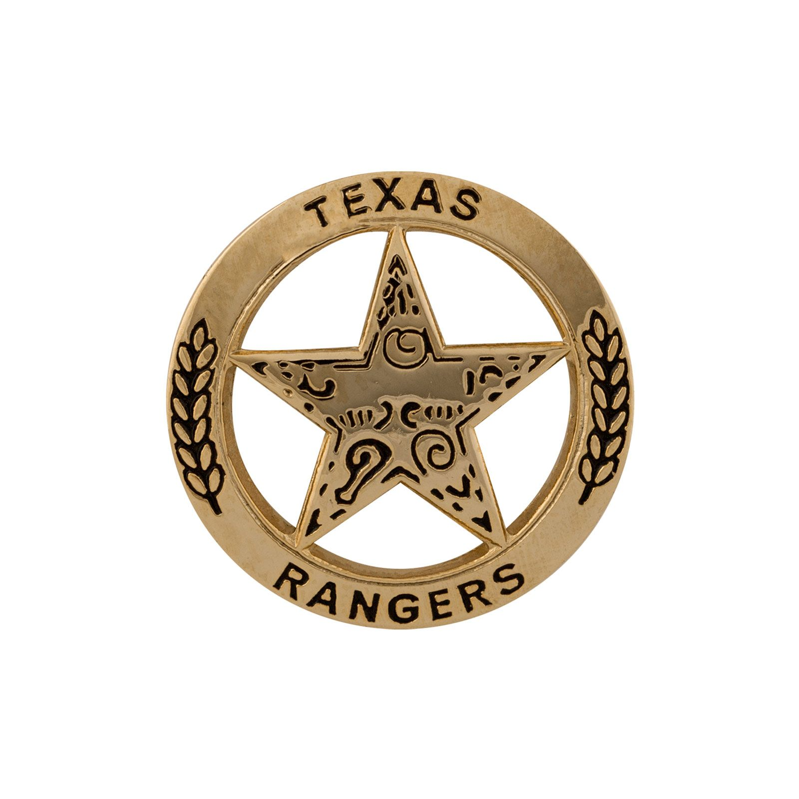 Texas Ranger Lapel Pin - Gold