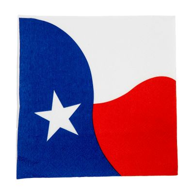 Texas Flag Napkins