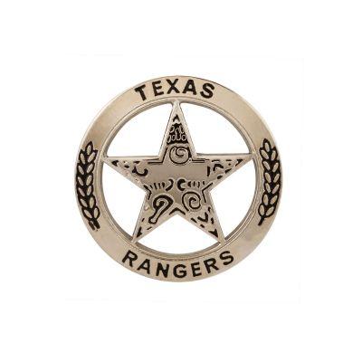 Texas Ranger Silver Tone Lapel Pin