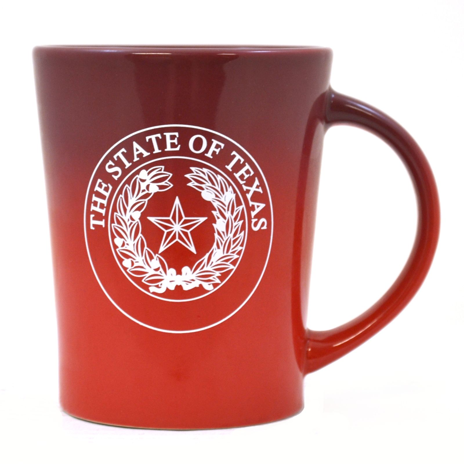 Red State Seal Ombre Mug