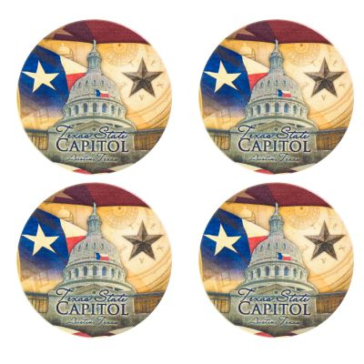 Capitol Collage Coaster Set