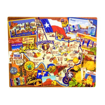 Magic Slice™ Texas Highlights Flexible Cutting Board