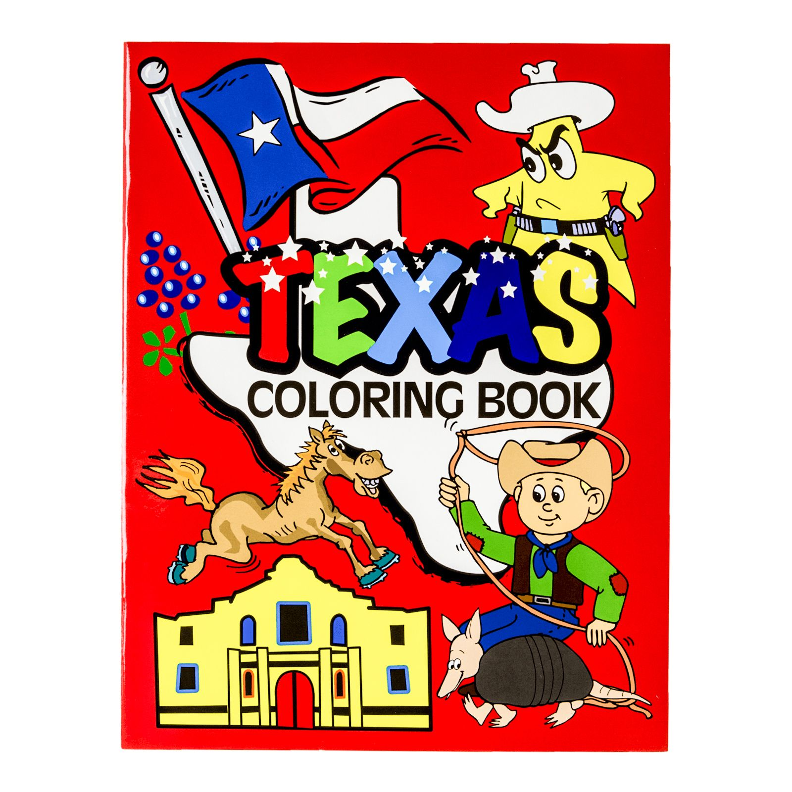 Texas Coloring Book | Texas Capitol Gift Shop