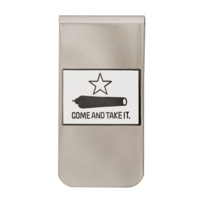 Gonzales Flag Money Clip