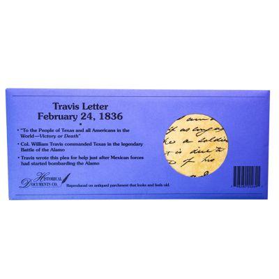 Replica Travis Letter 1836