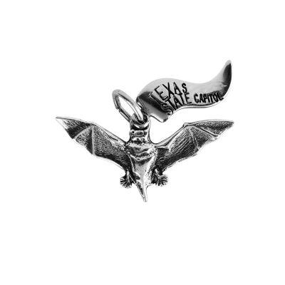 Bat Sterling Silver Charm