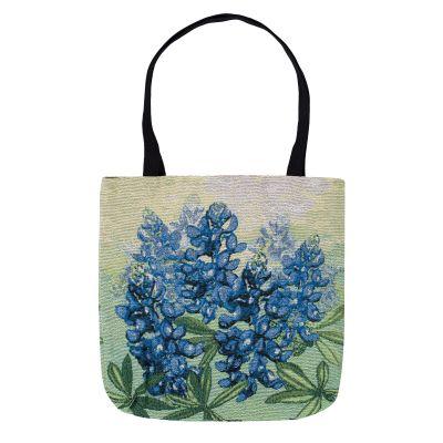 Bluebonnet Woven Tote Bag