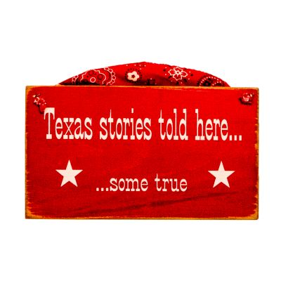 Texas Stories Told Here Plaque