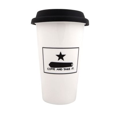 Gonzales Flag Travel Mug