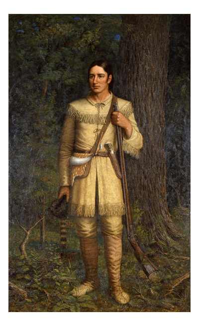 William Henry Huddle David Crockett, 1889