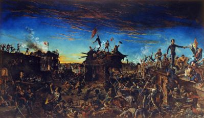 Henry McArdle Dawn at the Alamo, 1905