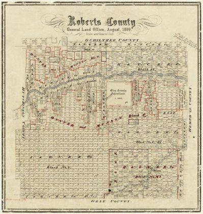 E. A. Hausmann Roberts County, 1889