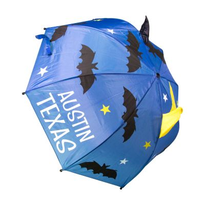 Austin Texas 3D Bats Kids Umbrella