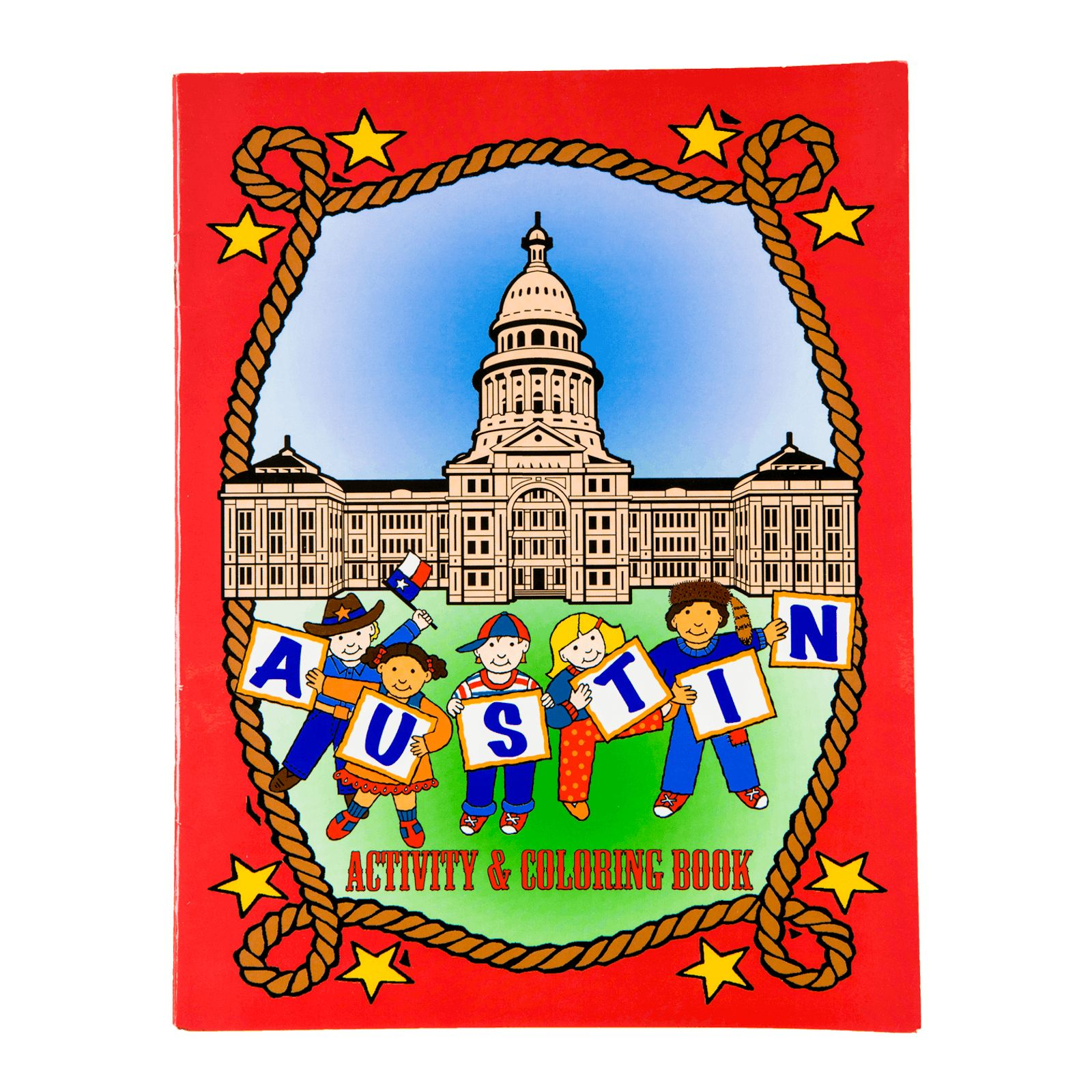 Austin Activity and Coloring Book | Texas Capitol Gift Shop