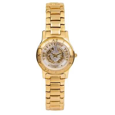 State Seal Gold Women's Watch