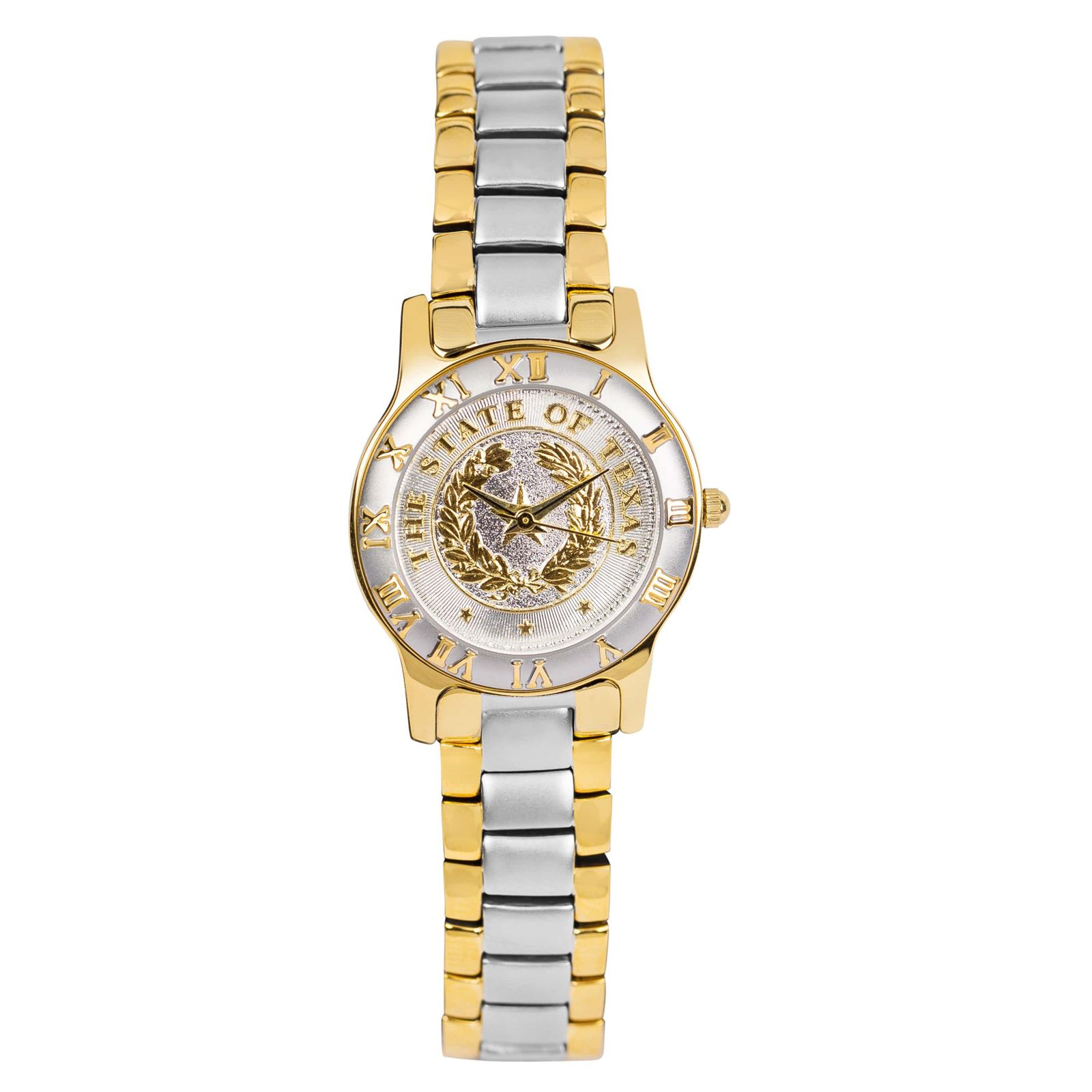State Seal Two-Tone Small Watch
