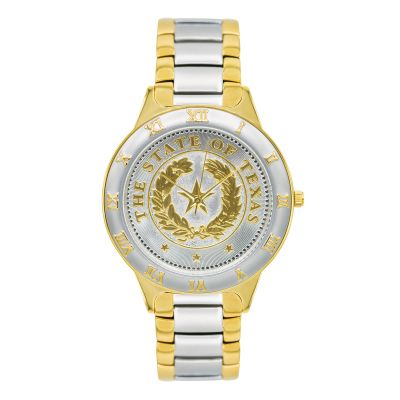 State Seal Two-Tone Men's Watch