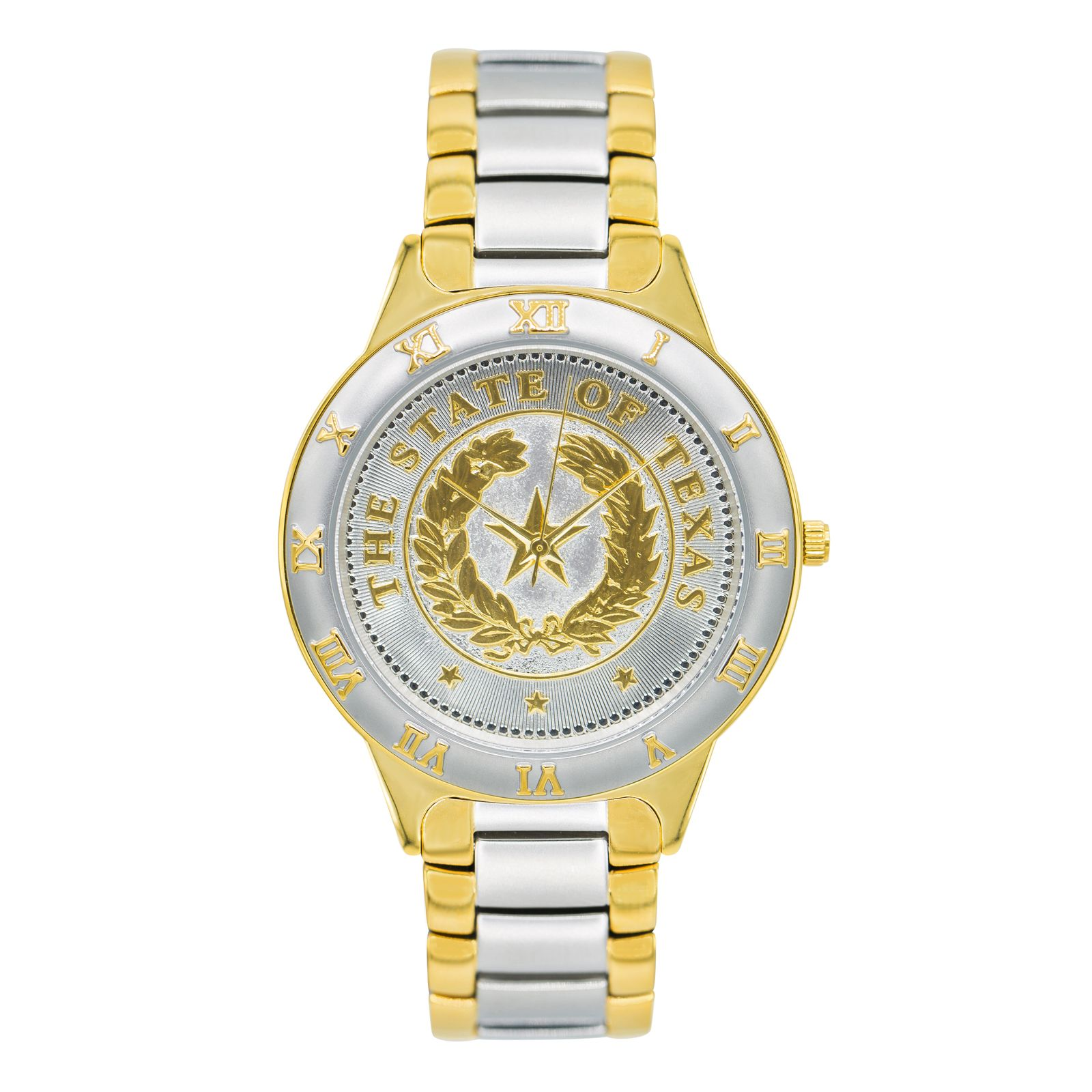 State Seal Two-Tone Large Watch