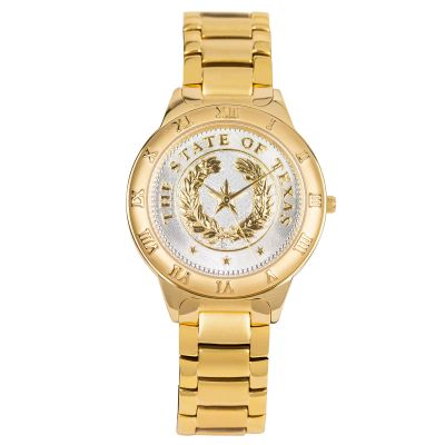 State Seal Gold Men's Watch