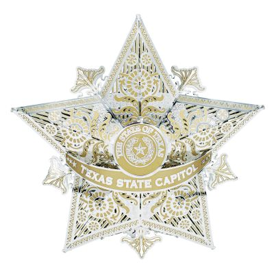 Texas State Capitol Holiday Tree Topper