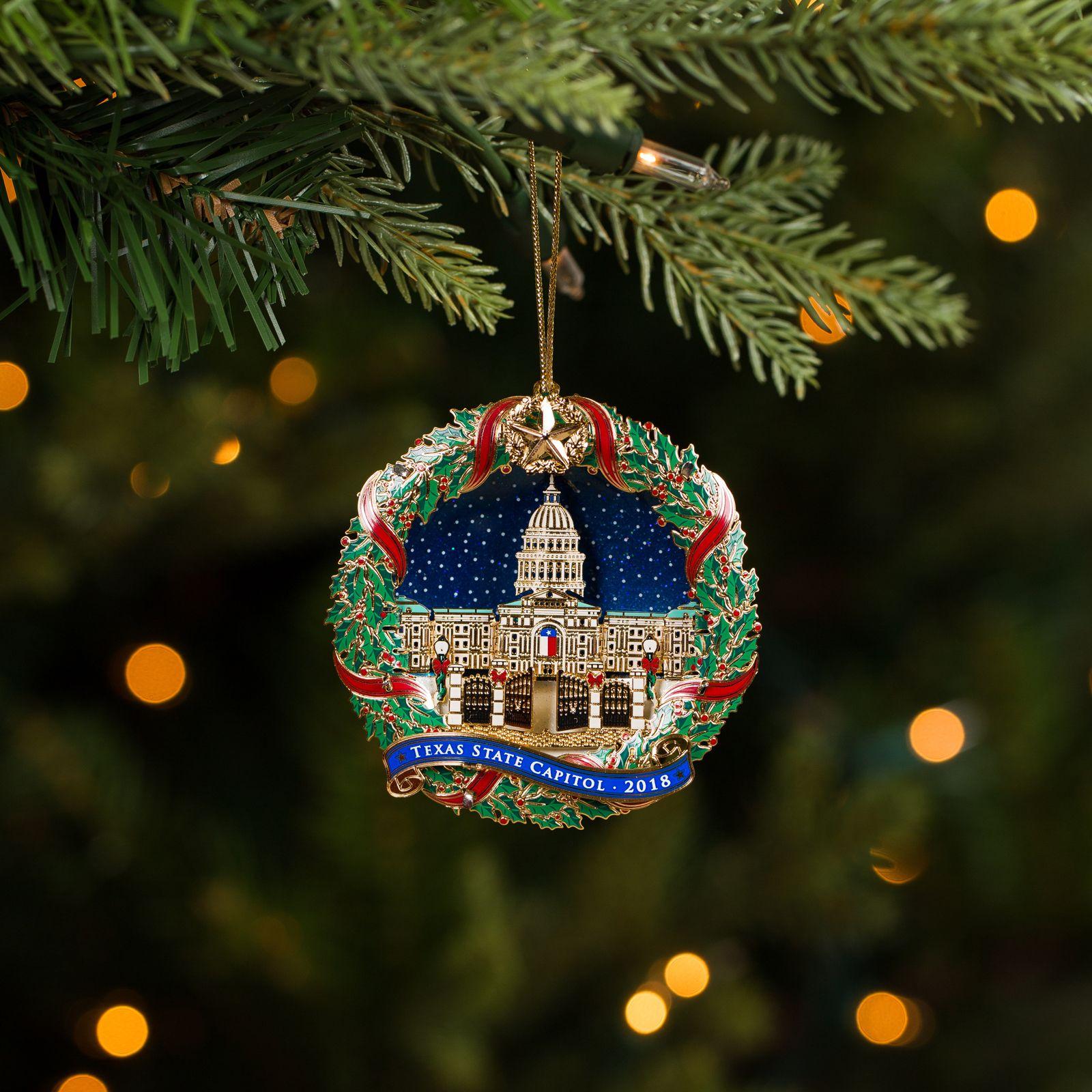 2018 Texas Capitol Ornament