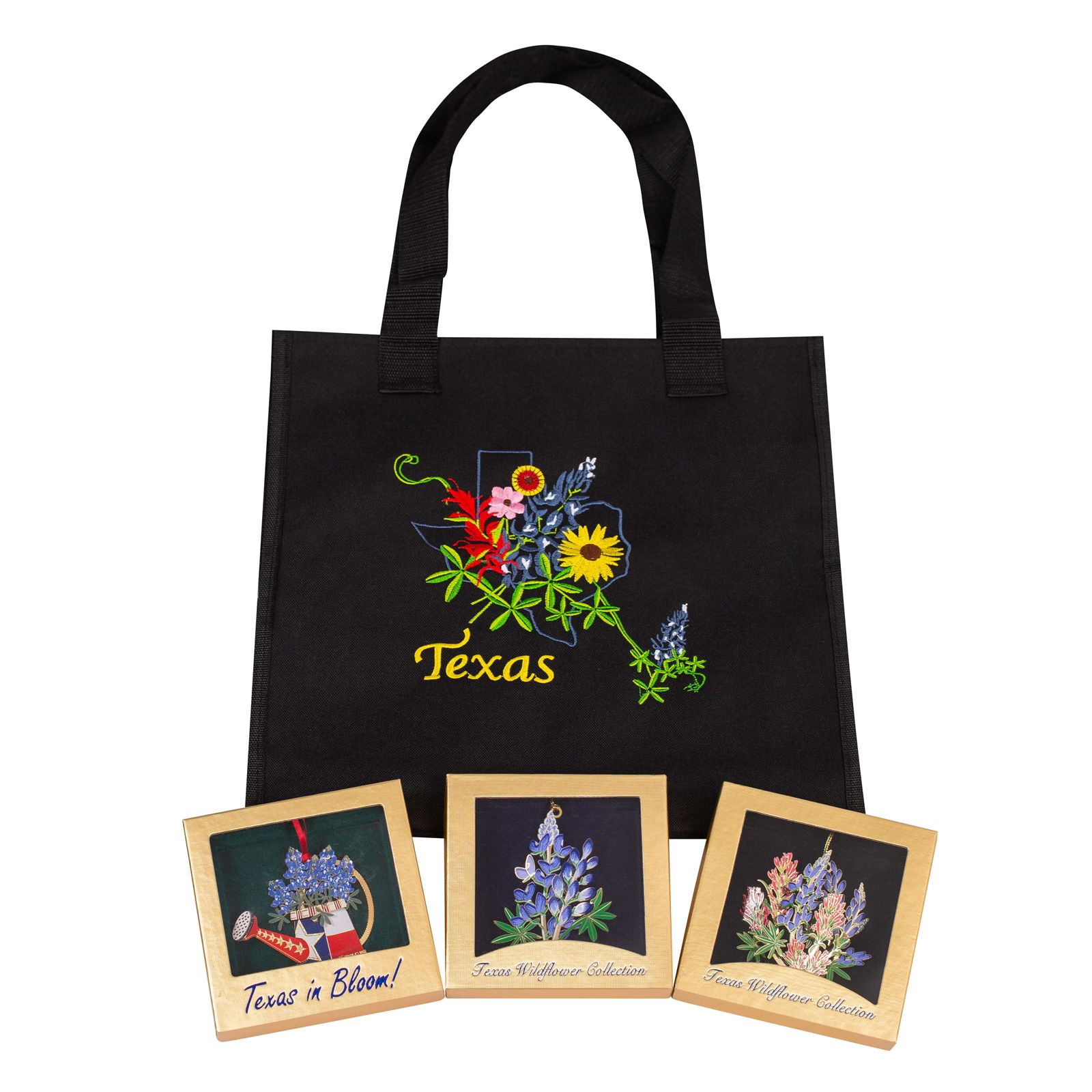 Texas Wildflower Ornament Bundle