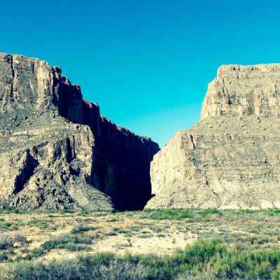 Carol Highsmith Big Bend: Santa Elena Canyon